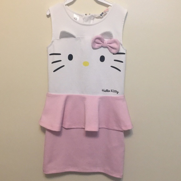 92873f379fb1 H&M Dresses | Very Cute Hello Kitty Peplum Dress | Poshmark